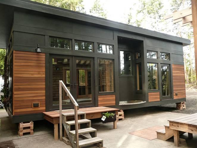 Интерьер маленького загородного дома от GreenPod