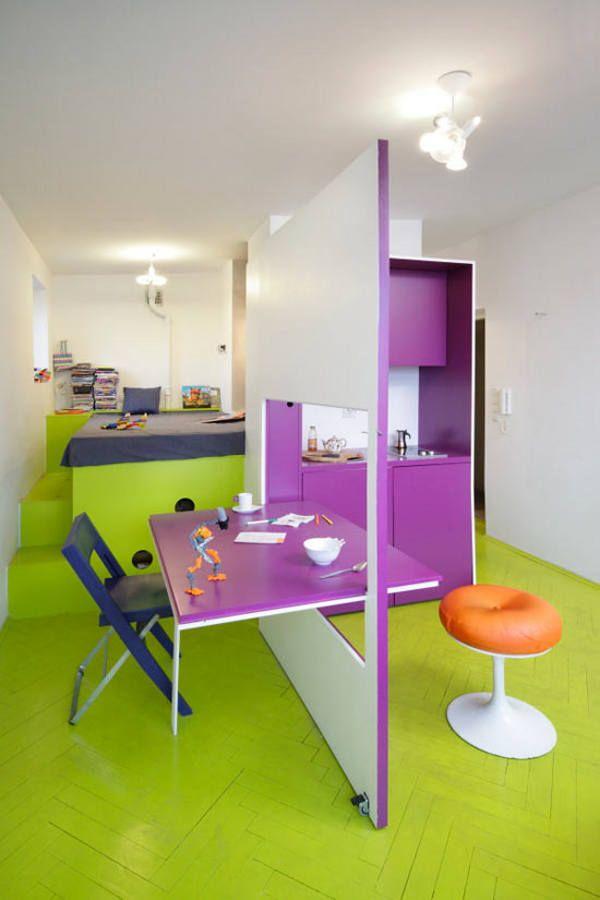Мебель-трансформер в интерьере маленькой квартиры