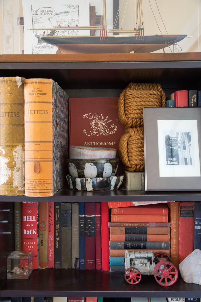 Винтажная библиотека