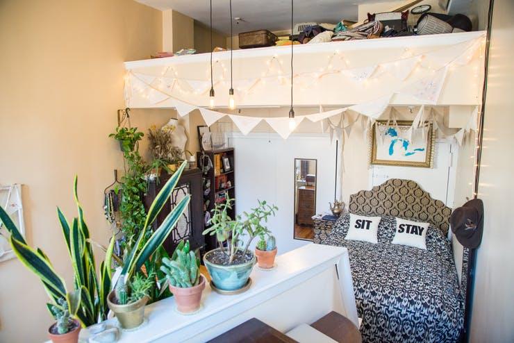 Уютный интерьер маленькой квартирки