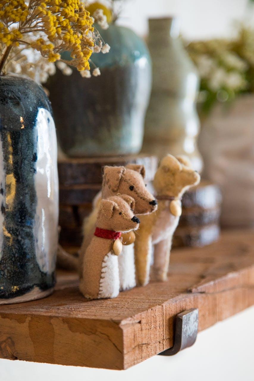 Плюшевые игрушки в интерьере маленькой квартирки