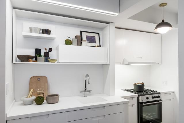 Кухня в маленькой квартире