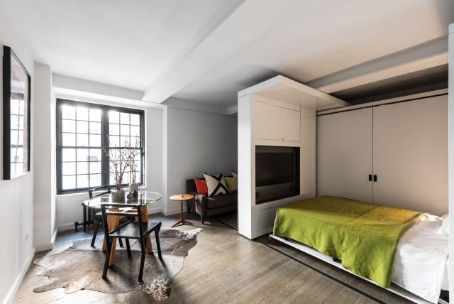 Столовая в маленькой квартире