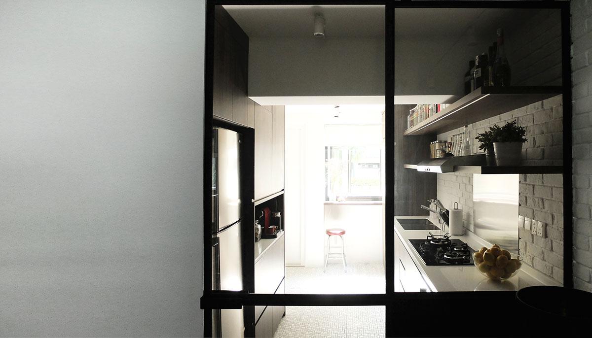 Интерьер кухни в маленькой квартире