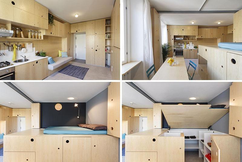 Интерьер маленькой квартиры от PLANAIR