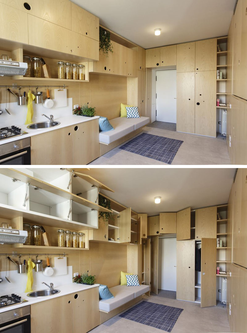 Интерьер маленькой светлой квартиры