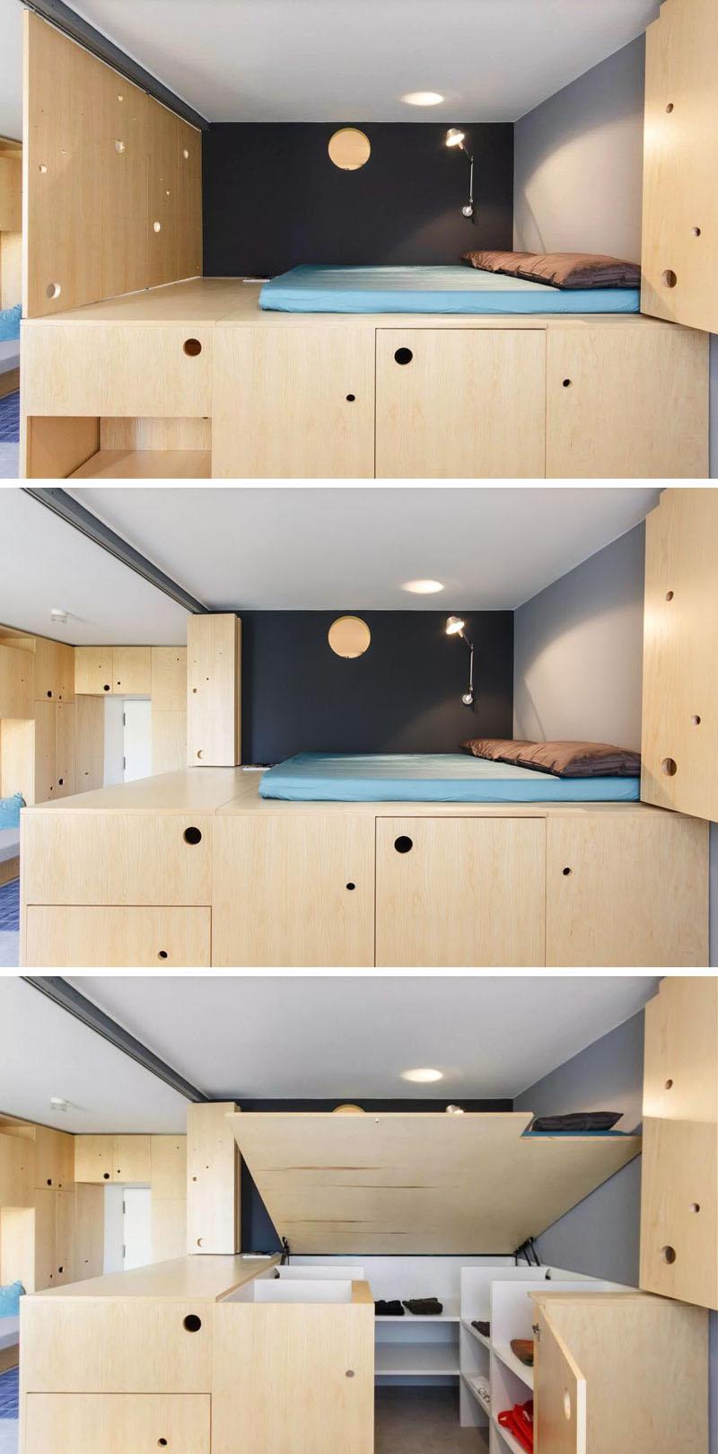 Системы хранения под спальным местом