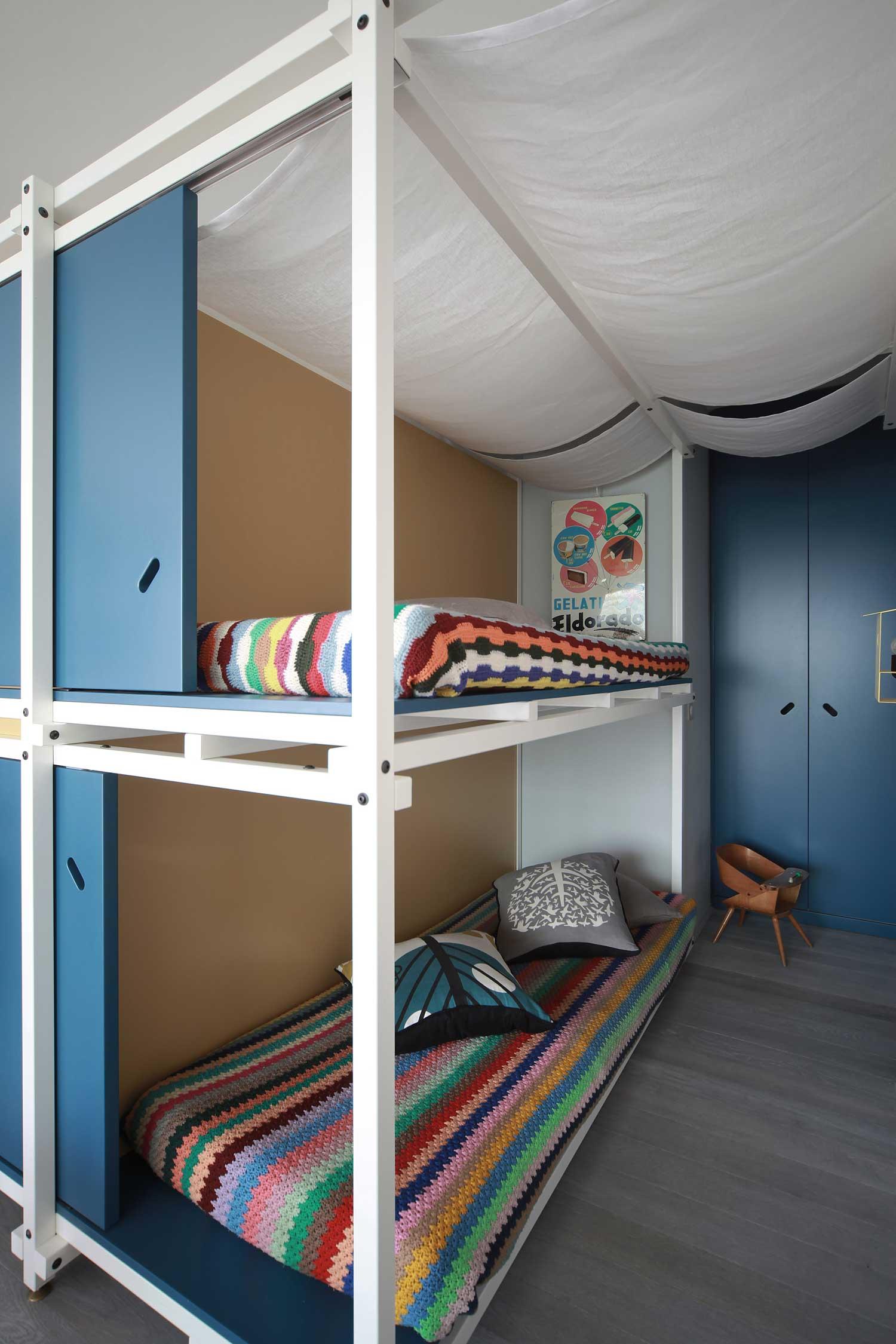 Кровати с белым балдахином