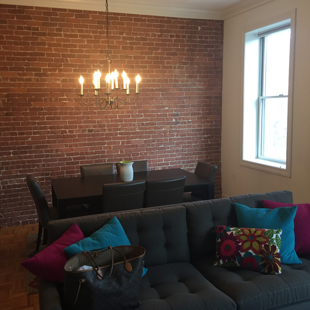 Интерьер маленькой квартиры: столовая до ремонта