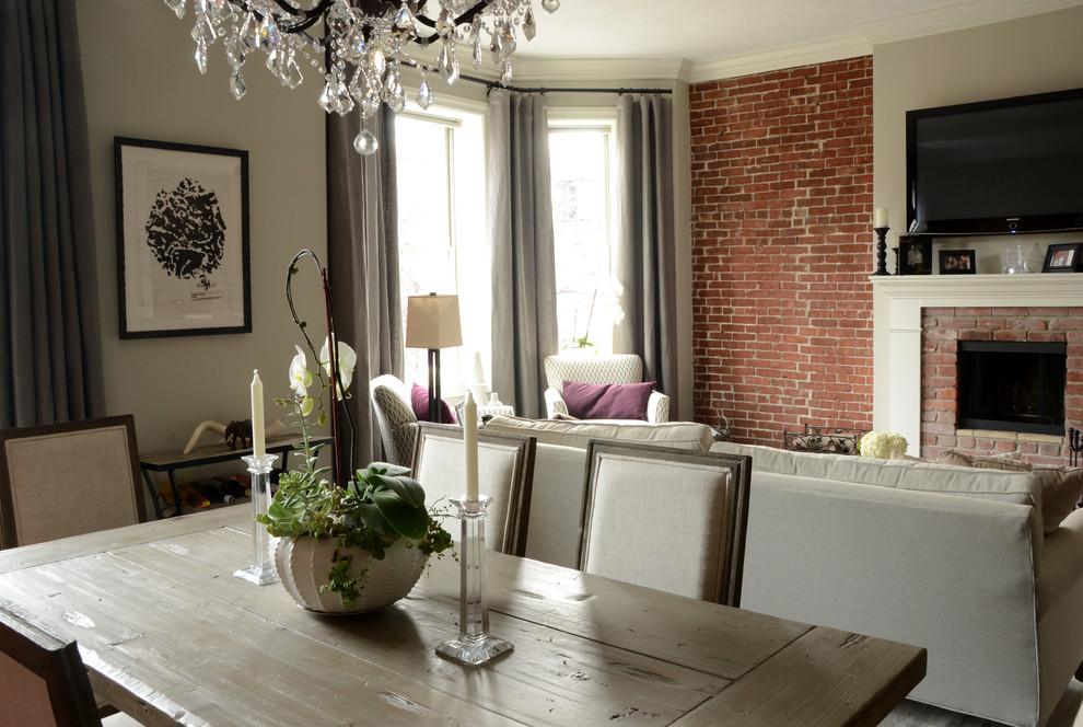 Интерьер маленькой квартиры: обеденная зона