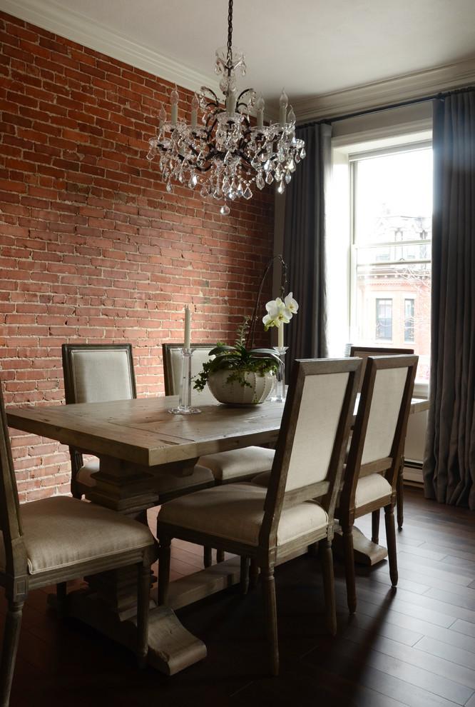 Интерьер маленькой квартиры: столовая после ремонта