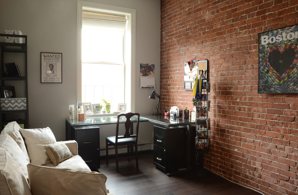 Интерьер маленькой квартиры: домашний кабинет