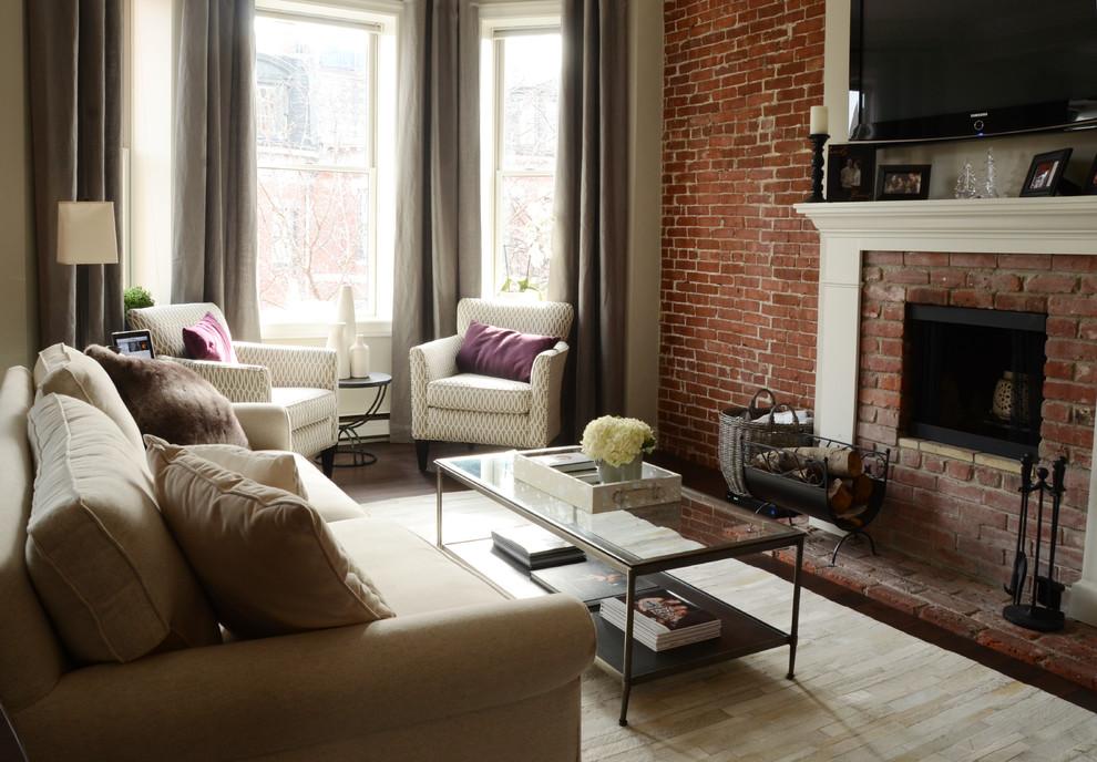 Интерьер маленькой квартиры: гостиная комната