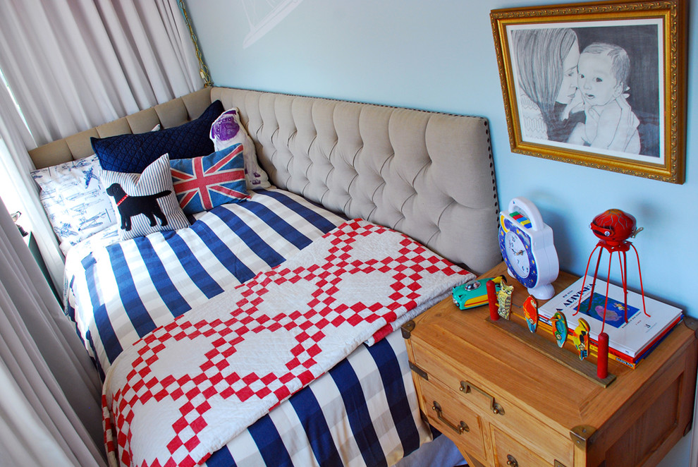 Оформление маленькой детской спальни