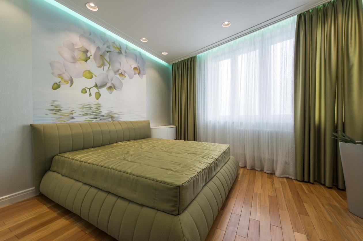Дизайн спальни 9.м