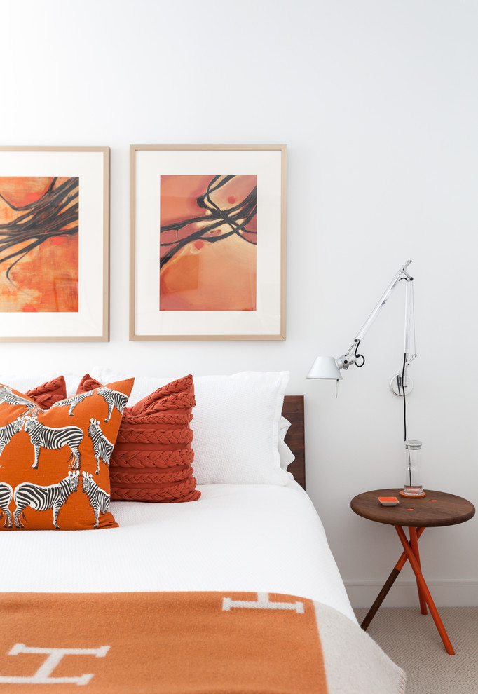 Спальня маленькой квартиры в Сан-Франциско