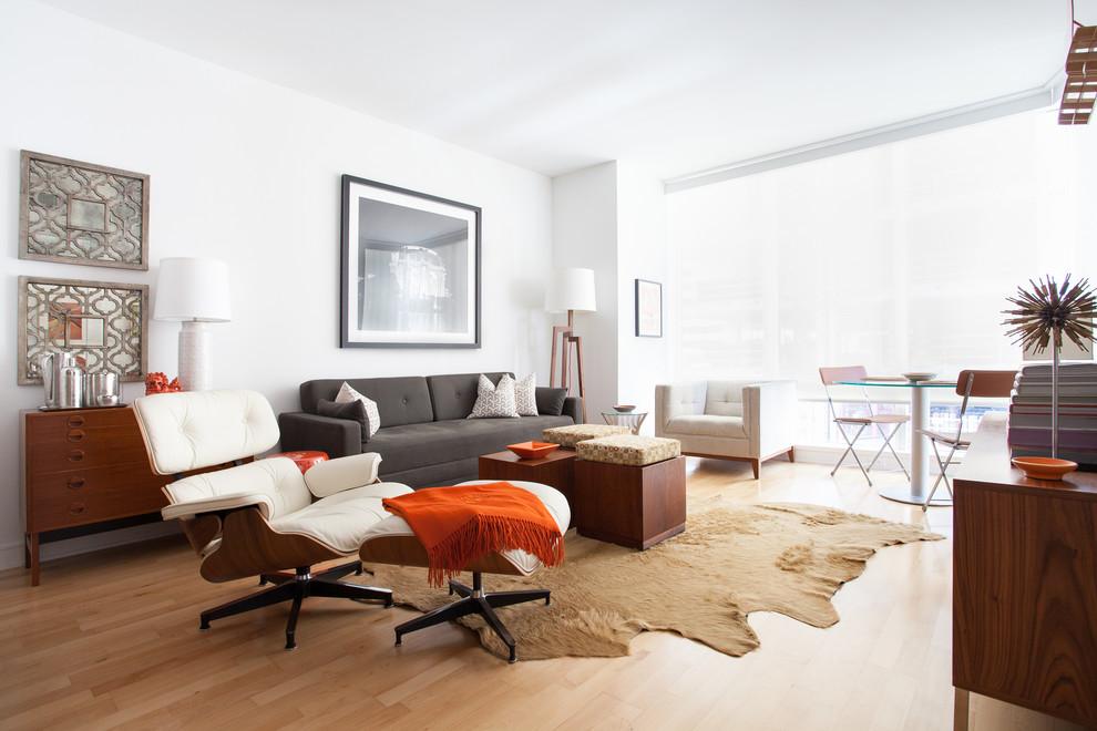 Интерьер маленькой квартиры в Сан-Франциско