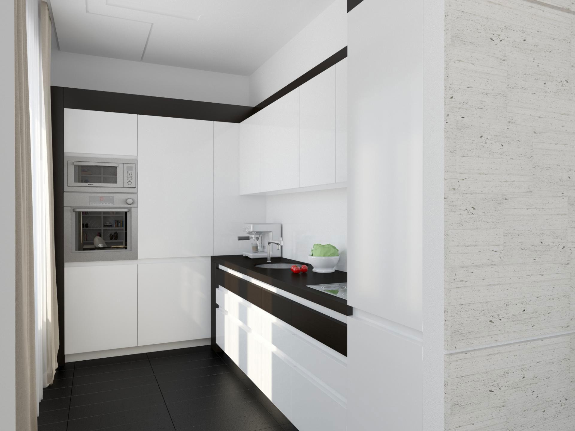Дизайнерский интерьер небольшой кухни - фото 8