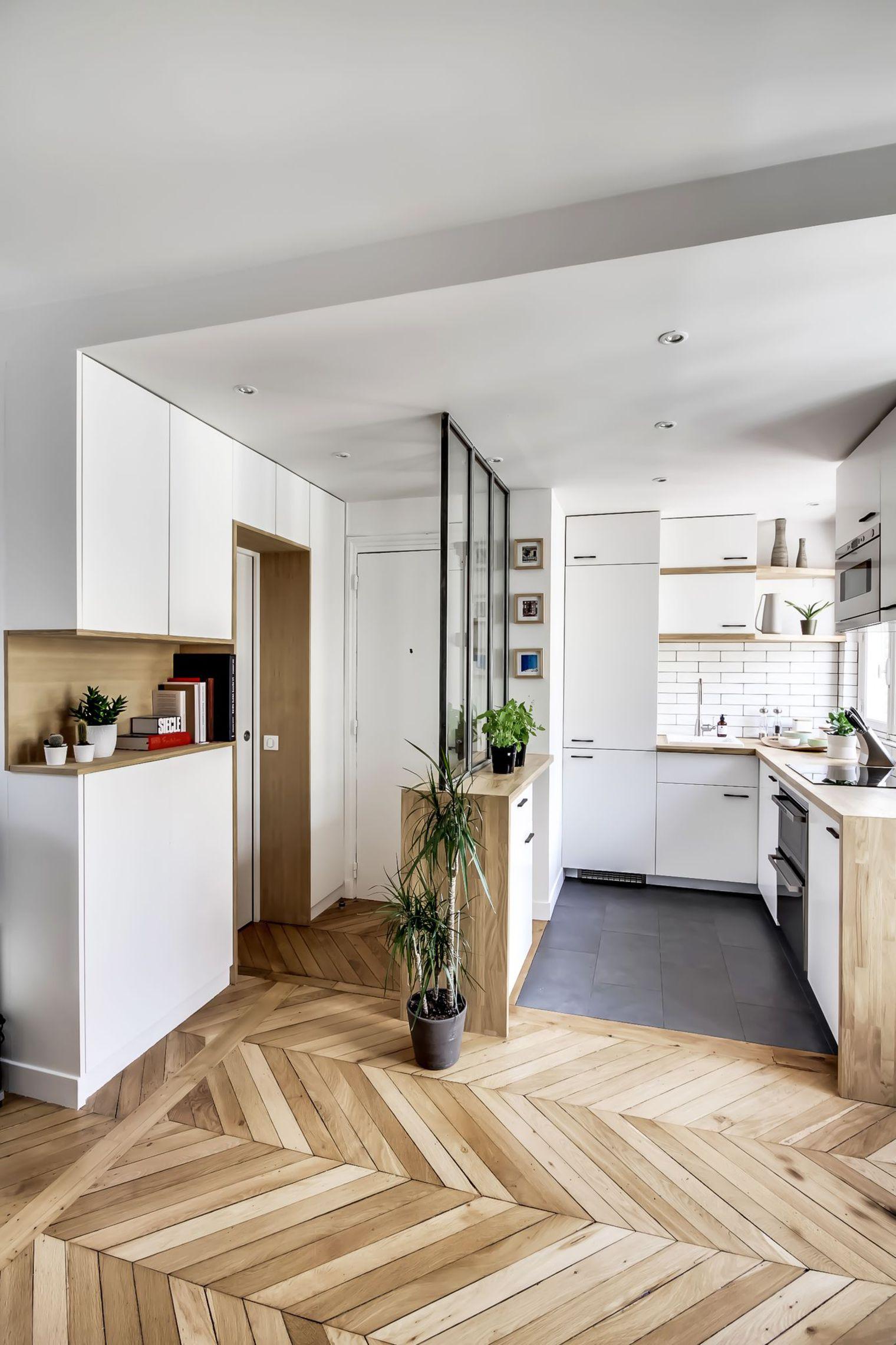 Маленькая кухня в небольшой квартире