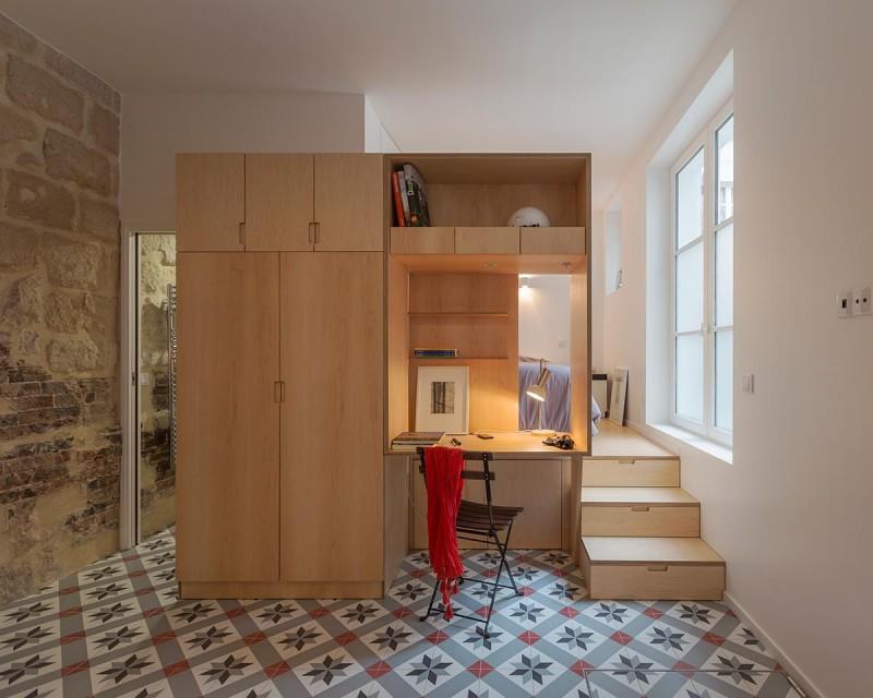 Красивый интерьер очень маленькой квартиры
