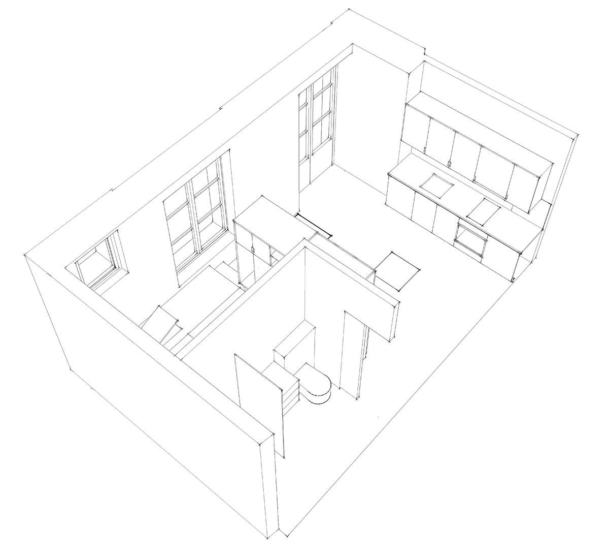 Планировка очень маленькой квартиры - фото 2