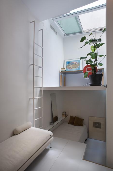 Интерьер маленькой многоуровневой квартиры