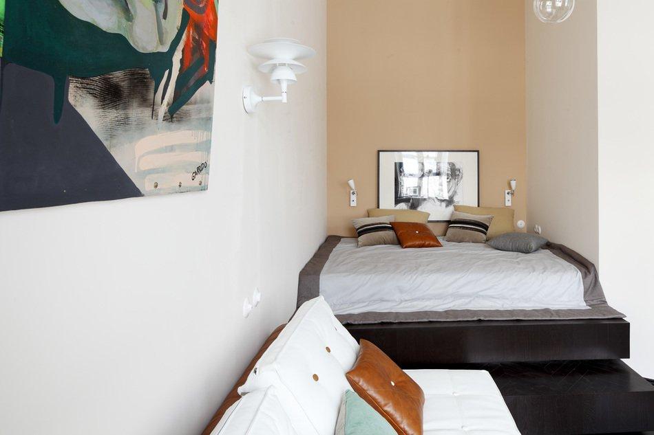 Интерьер спальни от Киры Чувалевой