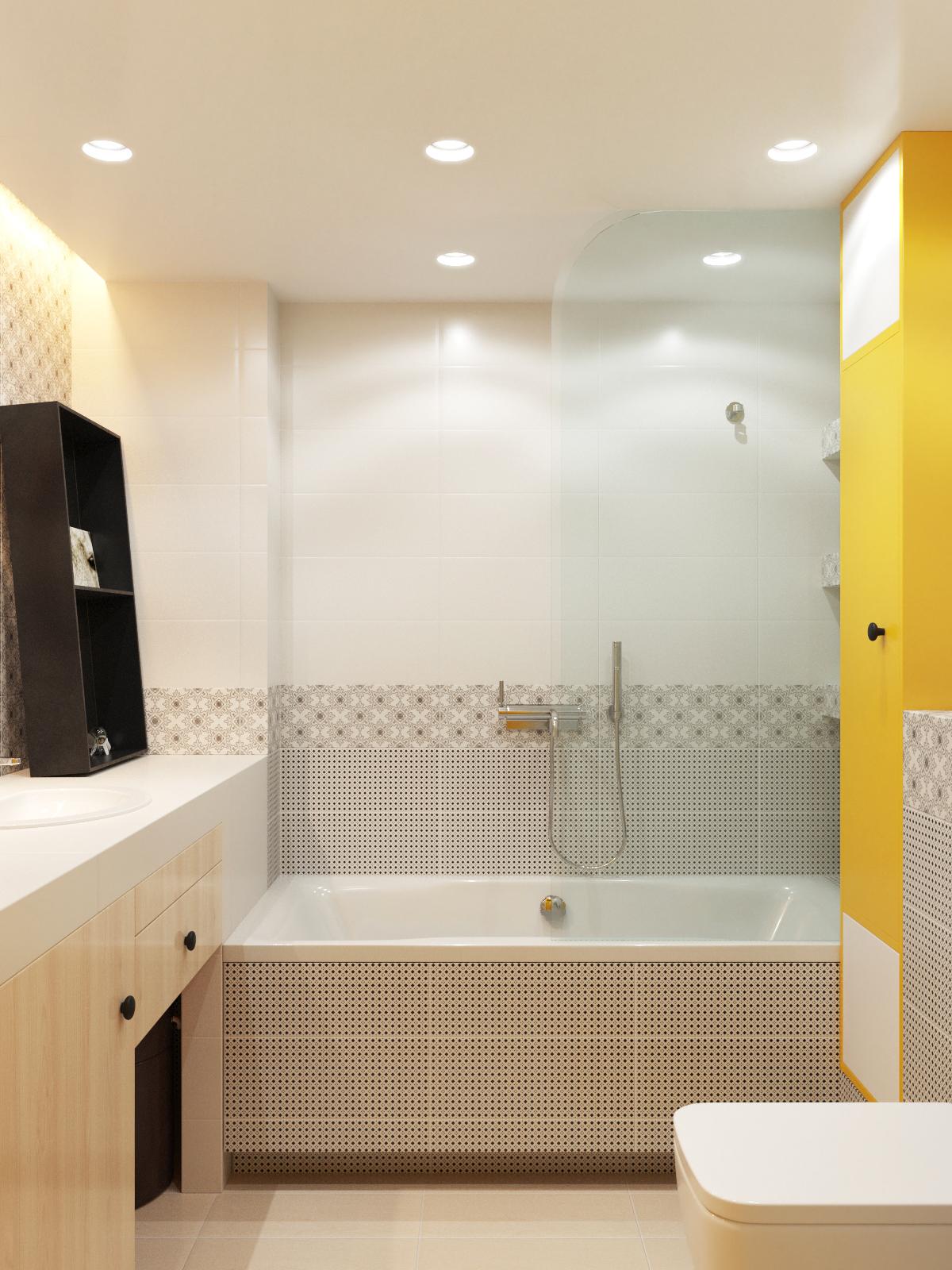 интерьер маленькой ванны с туалетом 83 фото дизайнерских идей
