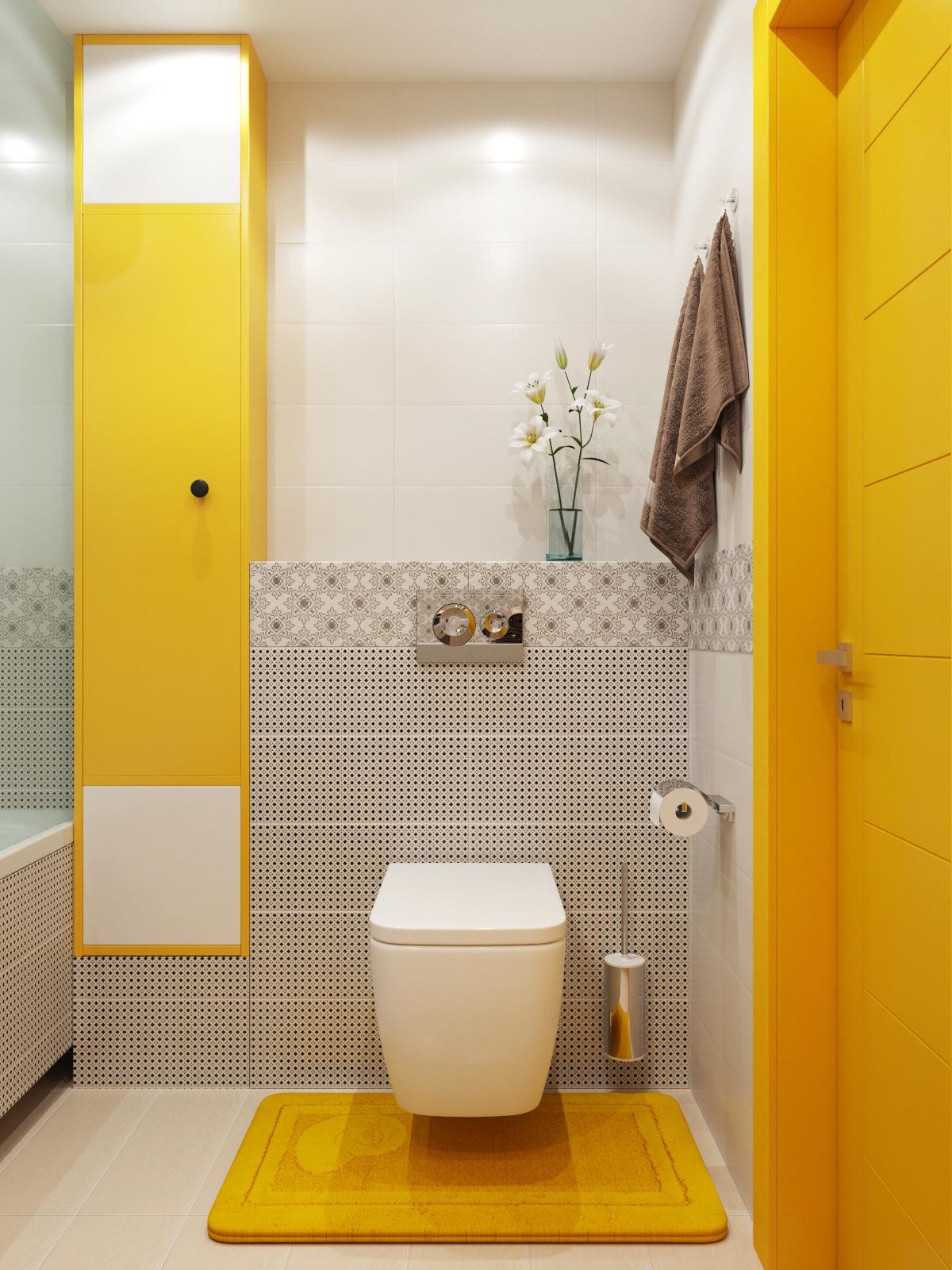 Дизайн интерьер ванной комнаты санузла