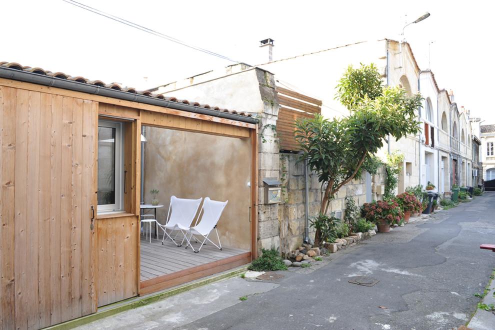 Оригинальное современное жилище в гараже