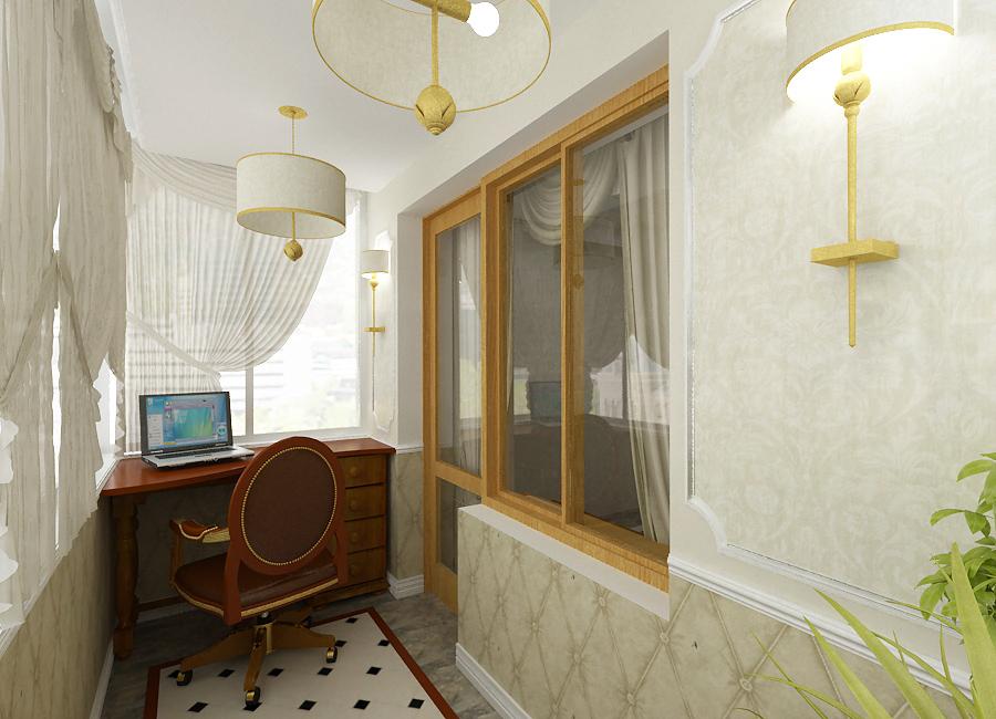 Отделать стены на теплом балконе дизайнерские решения..