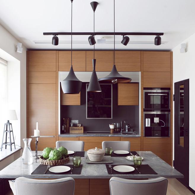 Столовая и кухонная зоны