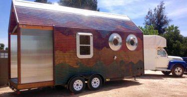 Как построить дом на колёсах своими руками: проект Доминик Муди