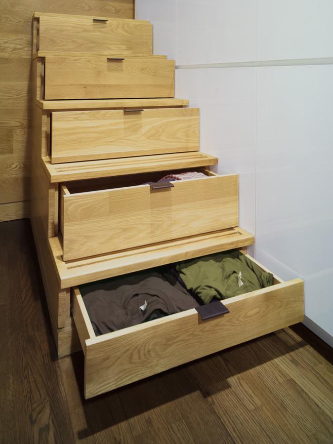 Система хранения в ступеньках
