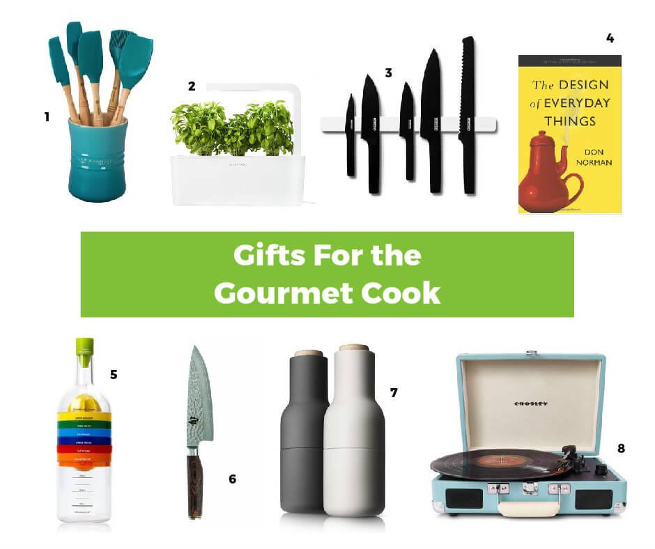 Интересные идеи подарков для поваров-гурманов