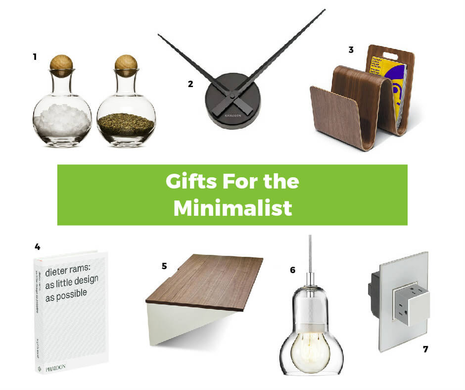 Интересные идеи подарков в стиле минимализм