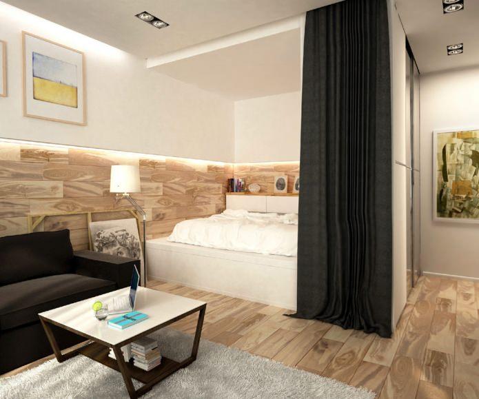 Как обустроить маленькую квартиру-студию фото, советы по 28
