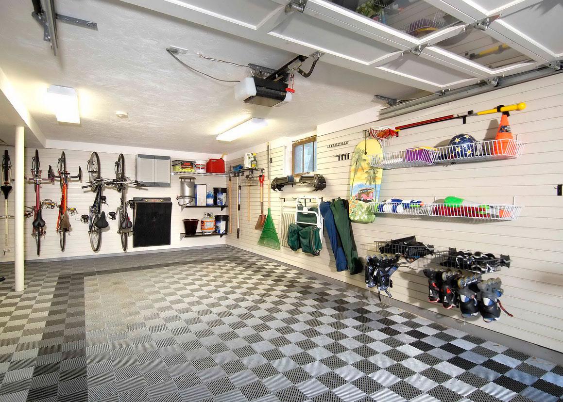 Интерьер гаража фото