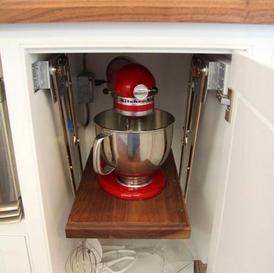Подвесная полка для кухонного комбайна