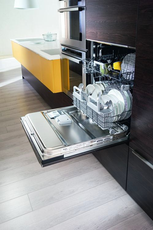 Выдвижные ящики для посуды