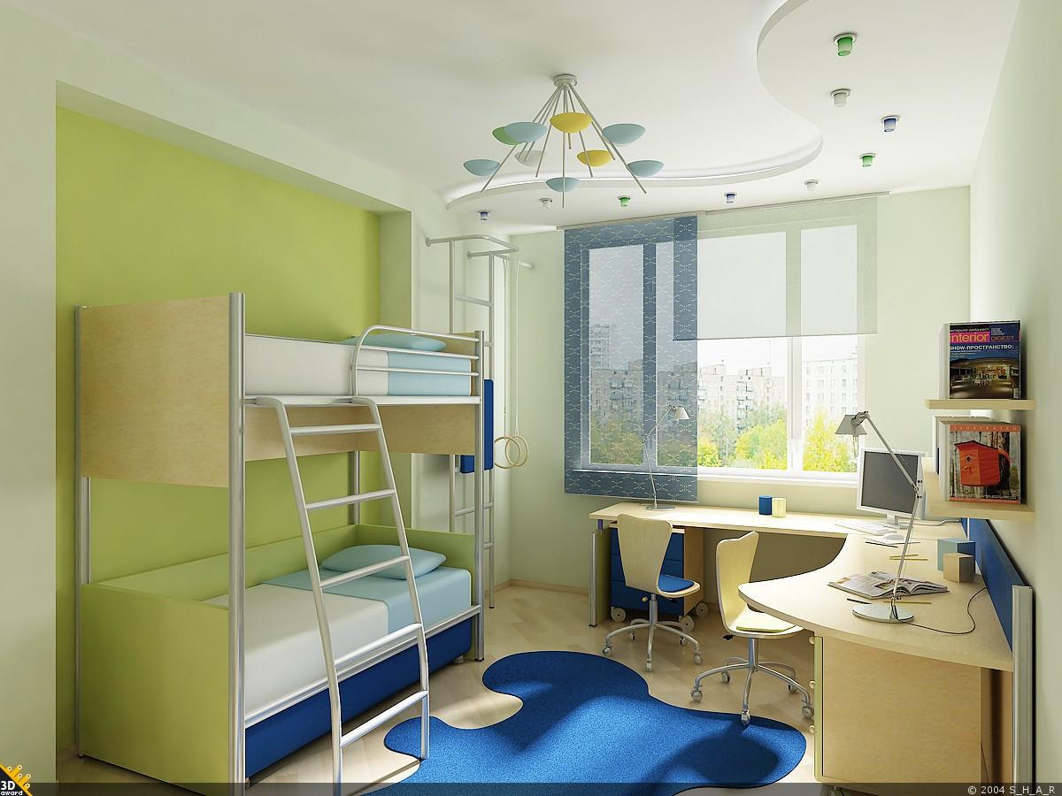 Детские комнаты фото - 120 тыс 625