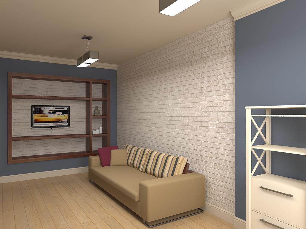 Красивый дизайн маленькой детской комнаты