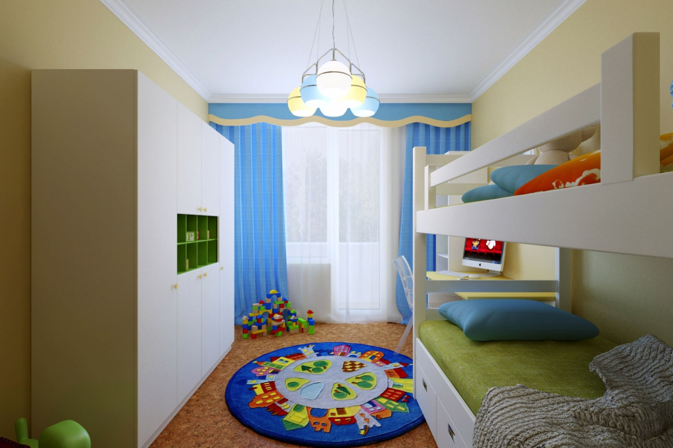 дизайн маленькой детской для двоих 25 интересных идей