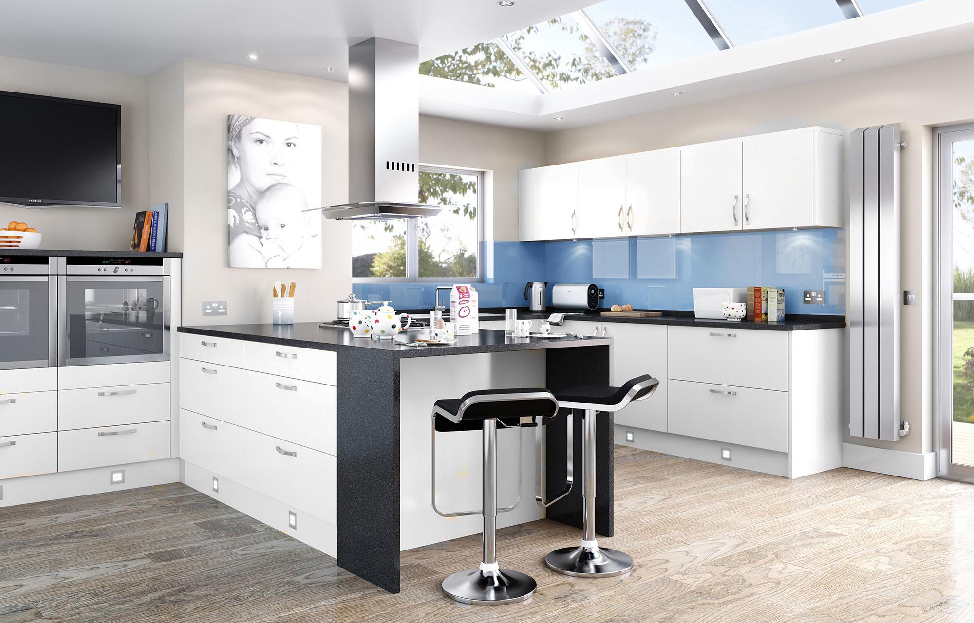 Дизайн интерьера кухни в маленьком пространстве