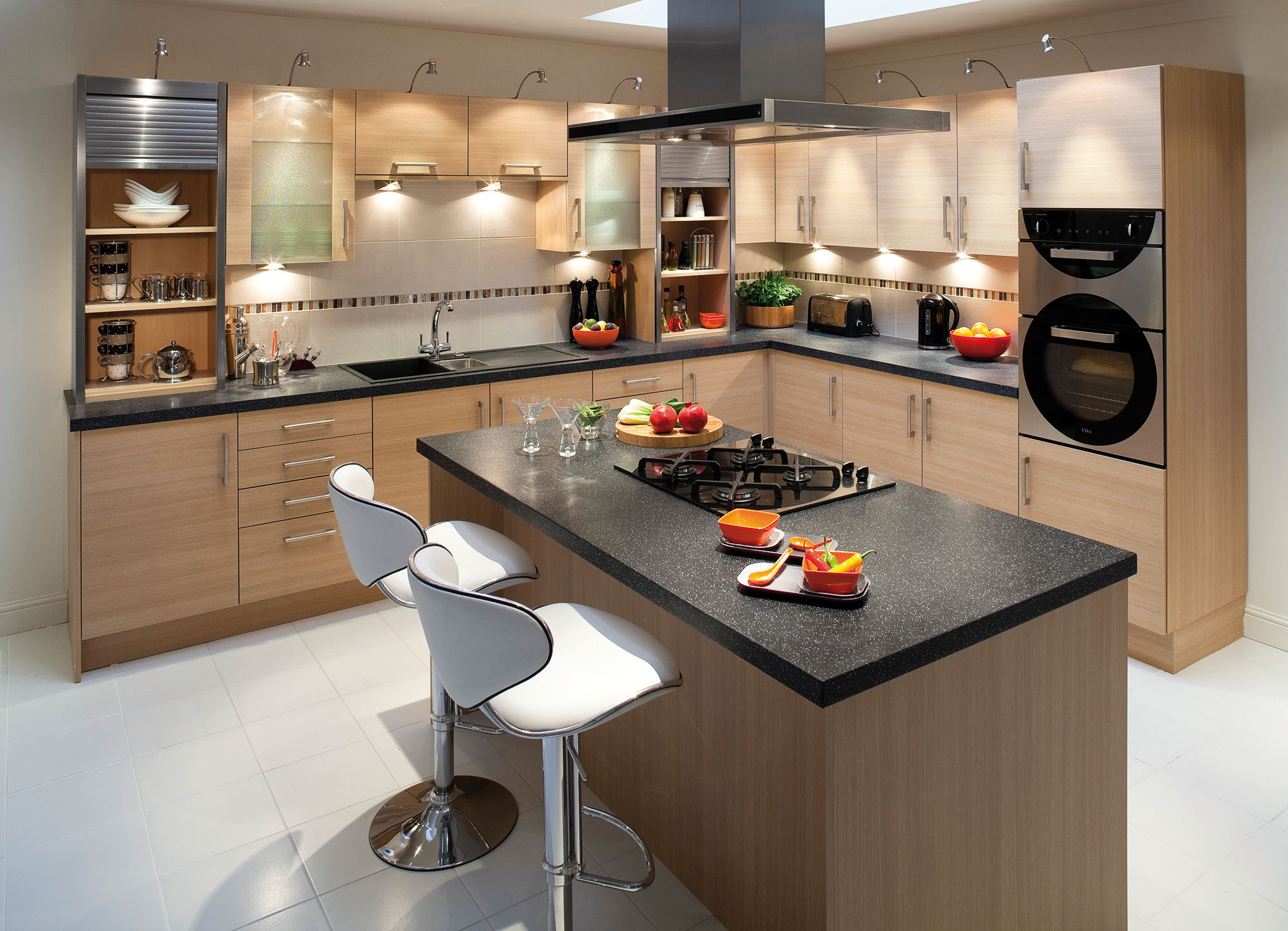 Дизайн кухни 3 на 4 современные идеи