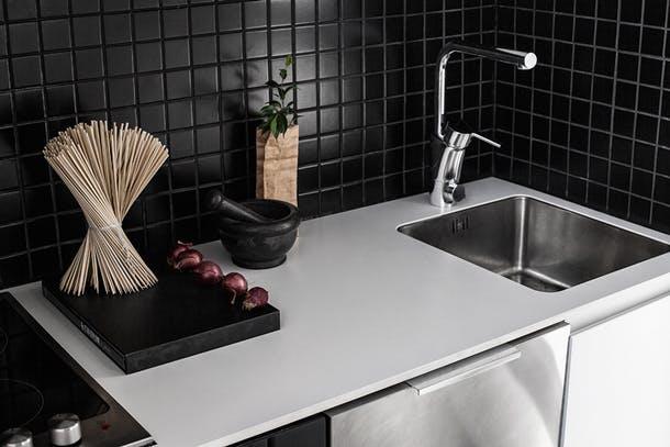 Кухонная поверхность в классическом стиле