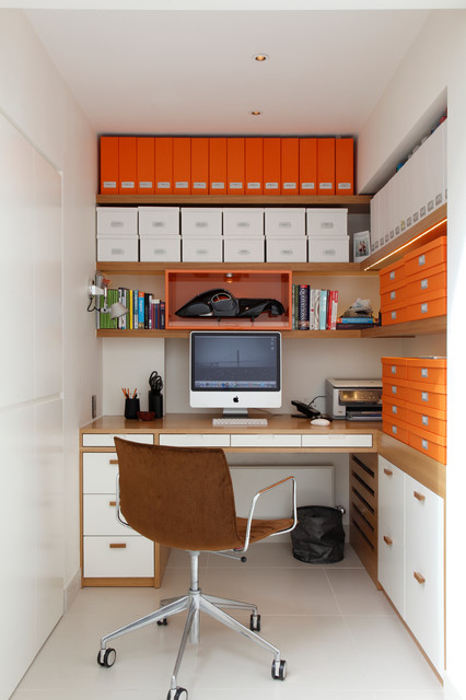 Красочный дизайн домашнего кабинета