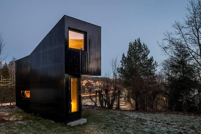 Комната для писателя от Jarmund/Vigsnæs AS Arkitekter, Осло