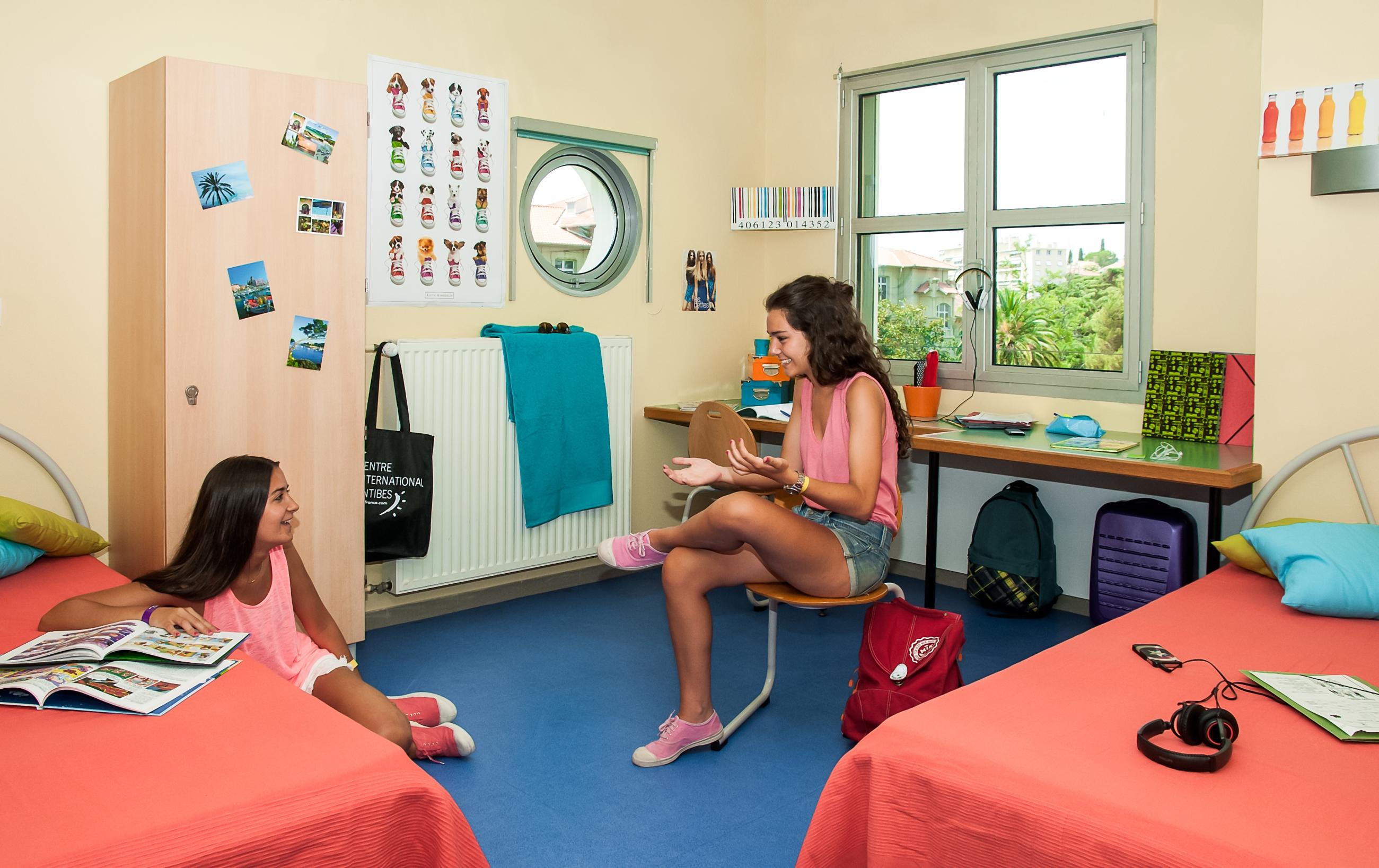 Стильная комната в общежитии