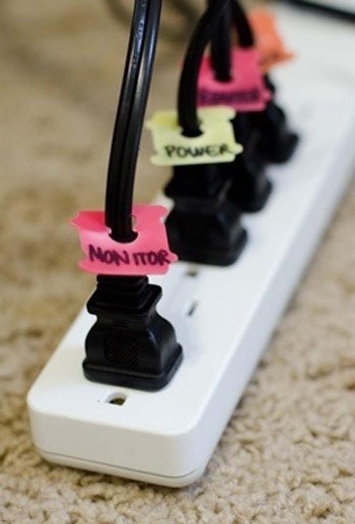 Этикетки для кабелей